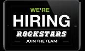 Rockstars Wanted!