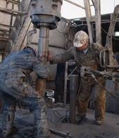 Oil rig work