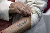 people put prints on Jews to keep track of them