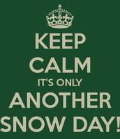 ELA/Snow Day PD Days