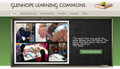 Library Learning Commons Website