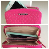 Chelsea tech wallet-Pink Perf -Brand New--was $74, now $30