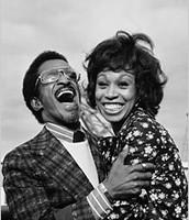 Sammy Davis Jr and Altovise gore