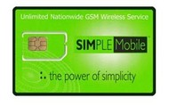 Simple mobile Sim card $10 EVEN!