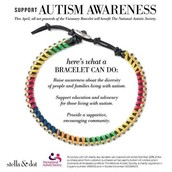 Support Autism Awareness Month  and the National Autistic Society