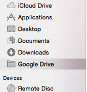 Save to GDrive folder