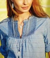 Aurelia necklace- originally $89-- SALE: $55