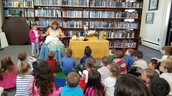 Preschool goes to the Waterford Library
