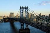 2.  Went to Brooklyn Bridge