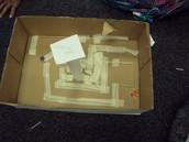 Cardboard Maze Challenge