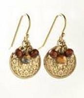 Rio Coin Drop Earrings - $15