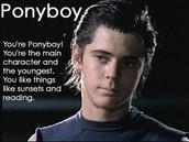 Ponyboy- Character Analysis