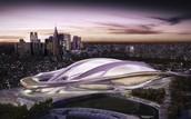 The 2020 Olympic Stadium