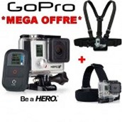 Record the thrilling moments with GoPro camera