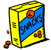 Snacks are good!