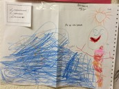 Example of a PreK Student's Writing