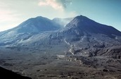 This is what happened after the eruption.