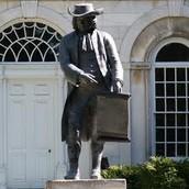 Statue of William Penn in Pennsylvania