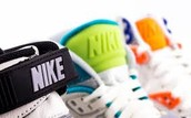 Various pairs of shoes!