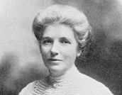 Kate Sheppard photographed about 1905