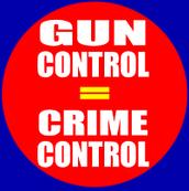Democratic view on gun control.