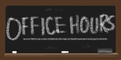 Master Calendar Office Hours- Stop by if you have questions!