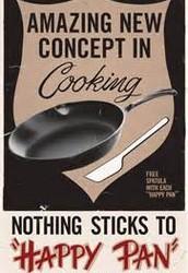 Teflon Coated Pan