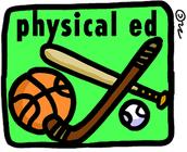 Wednesday:  Phy Ed