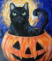 Moonlit Pumpkin