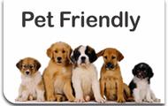 WE'RE PET FRIENDLY