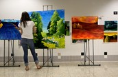 One of our visual art galleries.