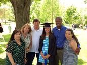 My family at my undergrad graduation