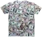 כסף (מראה שכאילו אם לא היה כסף, לא היה לנו משהו בעל ערך, בתמונה מדגימים לבוש)
