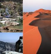 Land van contrasten. Paradijs van natuurlijke diversiteit!