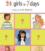 24 Girls in 7 Days by Alex Bradley