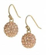Soiree Drop Gold Earrings $15.00