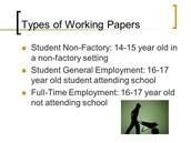 Child Labor Laws