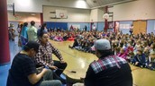 Thank you, Raymond, Ken and Nate, for making our Culture Assemblies a Success!