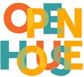 PARENT UNIVERSITY/ OPEN HOUSE SEPTEMBER 17- 5pm- 7pm