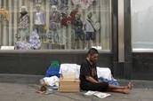 La gente sin hogar