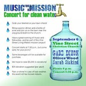 A mission to clean water...