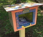 Please support the Little Library by the playground with donated books. The Elmington Park Assoc. is responsible for this miniature neighborhood lending library.
