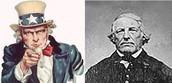 Uncle Sam and Elbert Anderson Jr.