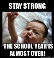 The last 7 days of school: