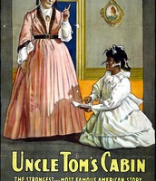 "Movie poster for ""Uncle Tom's Cabin"""