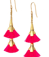 Add Some Pink with the Eden Tassel Collection!