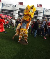 What I saw at the chinese festival in Houston Texas