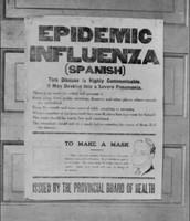 Poster for the Spanish Flu
