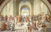 Raphael The Athenian School.