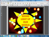 "CBCA Book Theme ""Books light up our World"""